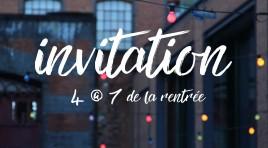 INVITATION : 4 @ 7 de la rentrée présenté par Nerds!
