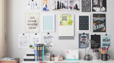 study-organization-wall