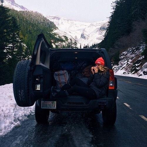 Roadtrip-hiver