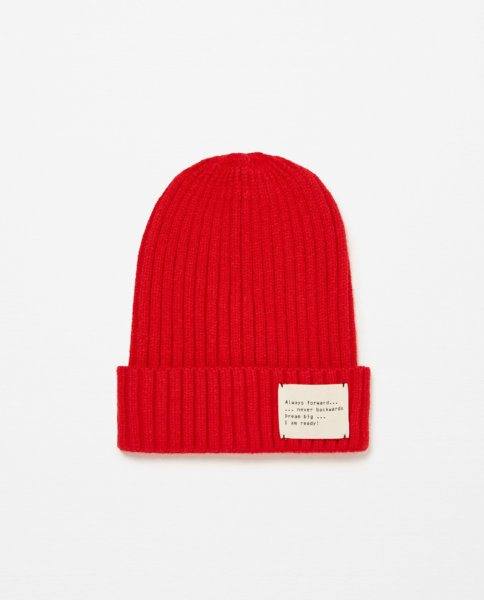 Tuque-Zara-Rouge